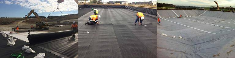 dam liner installation quality assurance
